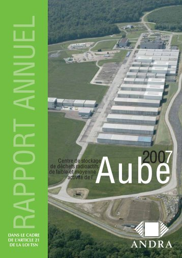 Rapport 2007 - Andra