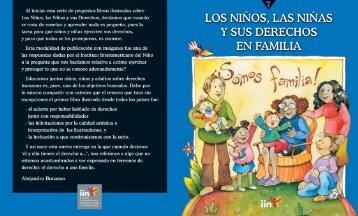 Los Niños, las Niñas y sus Derechos en Familia - IIN
