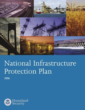 National Infrastructure Protection Plan - National Association of ...