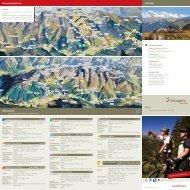 Biken Kontakt Panoramakarten Bikerouten - Savognin