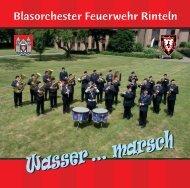 das Booklet zur CD herunterladen - Blasorchester Feuerwehr Rinteln