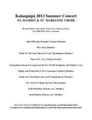 Download packet pdf - Mondoy Music