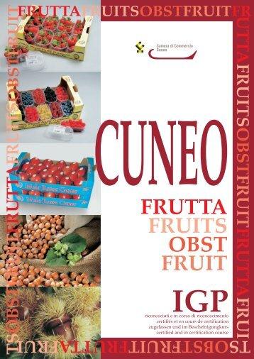 Cuneo Frutta IGP - Camera di Commercio