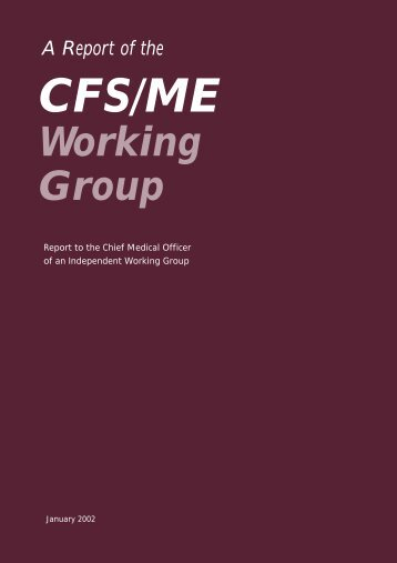 CFS/ME Working Group