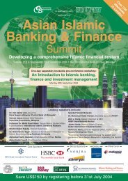Asian Islamic Banking & Finance Summit - Zawya