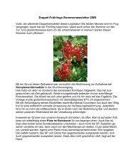 Doppel-newsletter 2009 - Grüne Winterthur