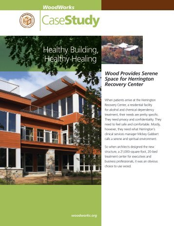 Herrington Recovery Center - WoodWorks
