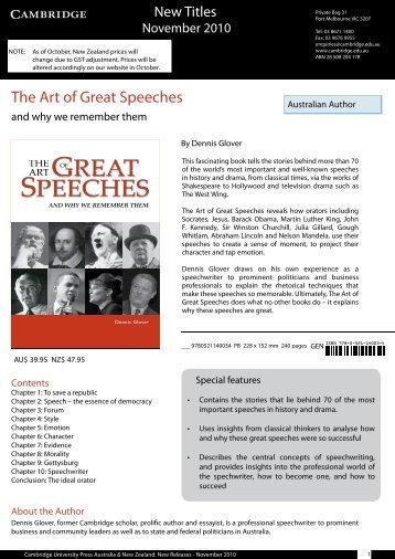 PDF - November Kit 2010 - Cambridge University Press