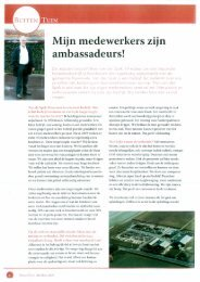lees meer - M. van der Spek Hoveniersbedrijf BV