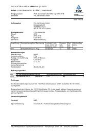 GUTACHTEN zur ABE Nr. 46890 nach §22 StVZO Anlage 13 zum ...