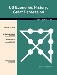 Great Depression Chart Book