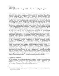 Szűcs Anita Etűdök globalizációra – Arrighi, Wallerstein és ... - Grotius