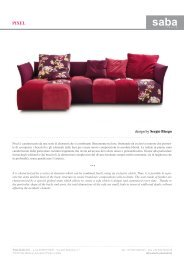 design by Sergio Bicego - Design Lounge by Hinke