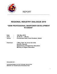 Guideline Industry Partner Jabatan Pengajian Politeknik