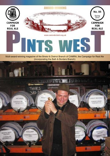 AWARD-WINNING - Bristol & District CAMRA