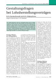 PDF-Dokument zum Download - WEITNAUER Rechtsanwälte