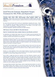 HBOT TBI, PTSD, Depression.pdf - HyperMED