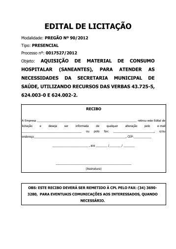aquisição de material de consumo hospitalar (saneantes)