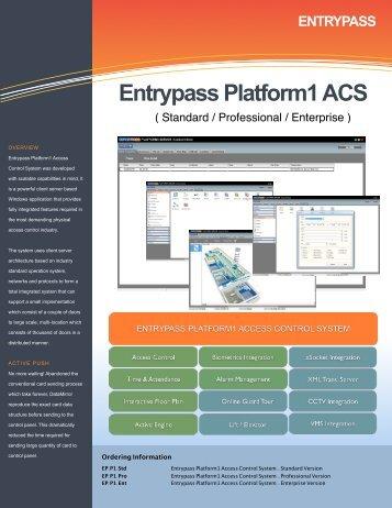 Entrypass Platform1 ACS - Bricomp Technologies Sdn Bhd