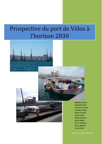 Port de Volos à l'horizon 2030