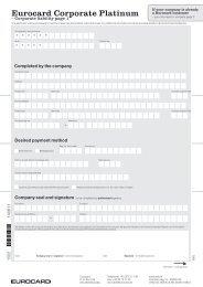 Eurocard Corporate Platinum