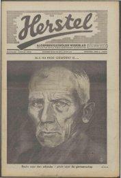 Herstel (1941) nr. 13 - Vakbeweging in de oorlog