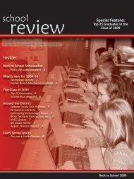 School 2009 Issue - Center Grove Community School Corporation