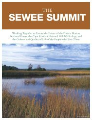 SEWEE SUMMIT - BCD Council of Governments