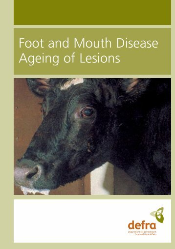 Ageing of Lesions - ARCHIVE: Defra
