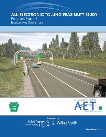Interim Report Executive Summary - The Pennsylvania Turnpike