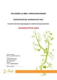 OPLEIDING tot MBO- VERPLEEGKUNDIGE - Albeda College