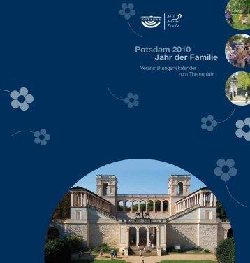 Veranstaltungen im Jahr der Familie... - Potsdam