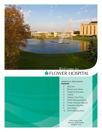 flower Hospital Helpline - ProMedica