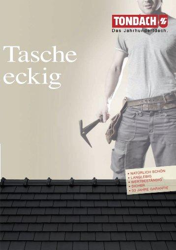 TONDACH ® Tasche eckig - Tondach Gleinstätten AG