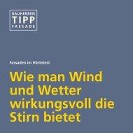 Bauherren Tipp - Fassade - Sto AG