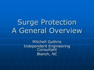 Surge Protection A General Overview - Lightning Protection Institute