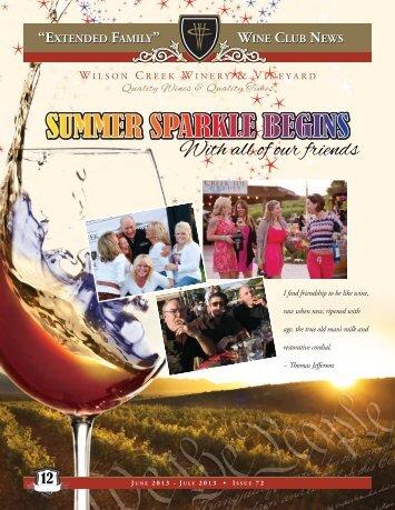 Issue 72 - Wilson Creek Winery
