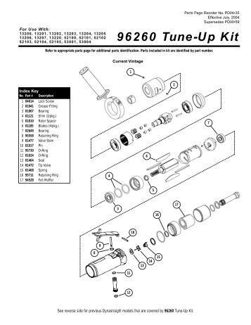 ACCEL GM HEI Distributor Tune Up Kit Instructions Part#: 8200