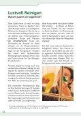 Lustvoll Reinigen Lustvoll Reinigen - Umweltberatung - Seite 2