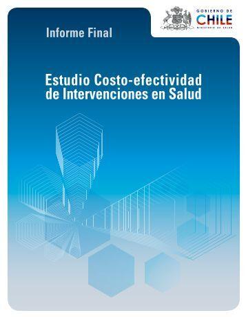 Informe Final Estudio Costo-efectividad de Intervenciones en Salud