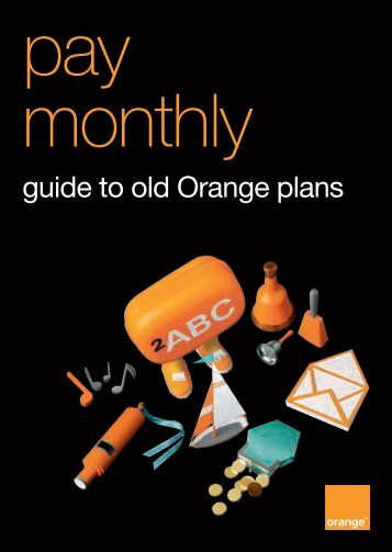 pay monthly - Orange