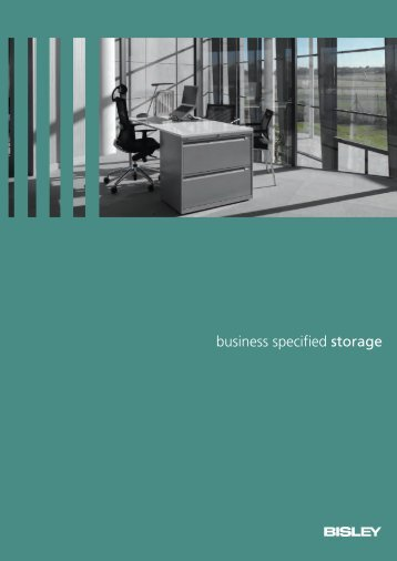 Storage brochure - Modern office furniture