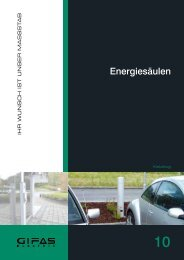 Register 10 Energiesäulen - GIFAS W.J. Gröninger ELECTRIC GmbH