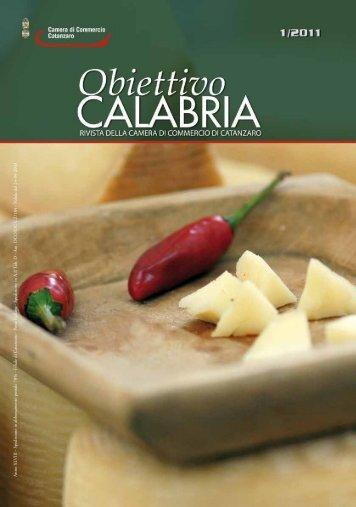 numero 1 anno 2011 - CCIAA di Catanzaro - Camera di Commercio