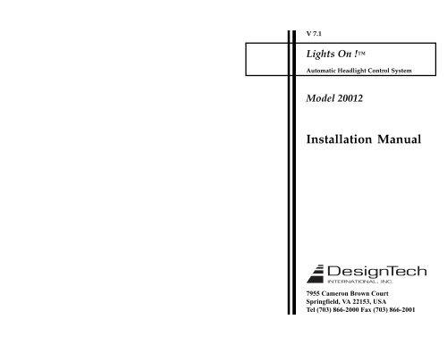 Installation Manual - Ready Remote