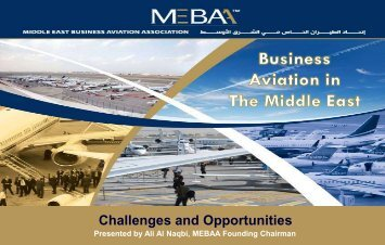 Business Aviation in The Middle East: Challenges and - eBace