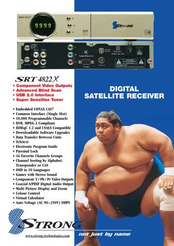 DIGITAL SATELLITE RECEIVER - MyTV