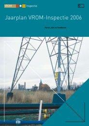 Jaarplan VROM-Inspectie 2006 - Inspectie Leefomgeving en Transport
