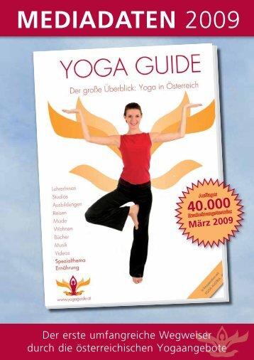 MEDIADATEN 2009 - Yoga Guide