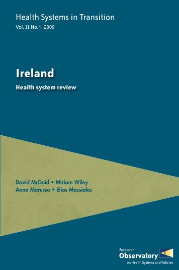Health Systems in Transition - Ireland - World Health Organization ...